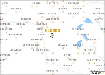 map of Klappa