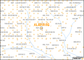 map of Klapping