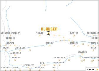 map of Klausen