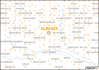 map of Klausen