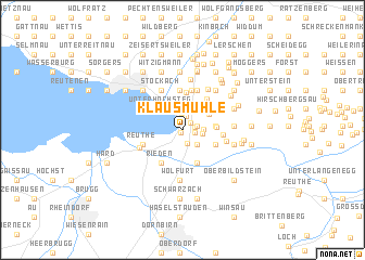map of Klausmühle
