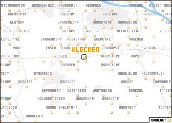 map of Klecken