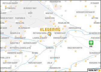 map of Kledering