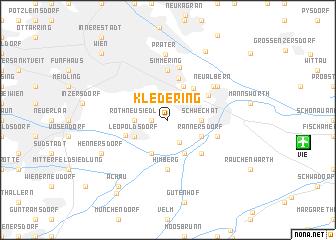 map of Kledering