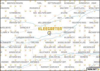 map of Kleegarten