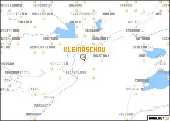 map of Kleinaschau