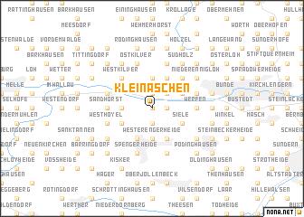 map of Klein Aschen