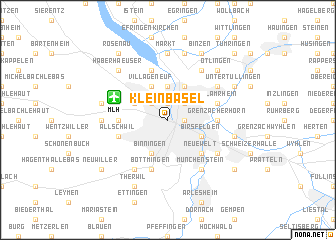 map of Klein-Basel
