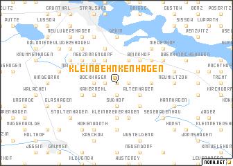 map of Klein Behnkenhagen
