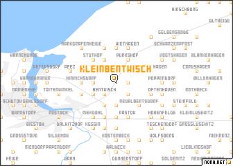 map of Klein Bentwisch