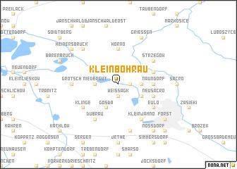 map of Klein Bohrau