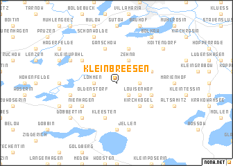 map of Klein Breesen