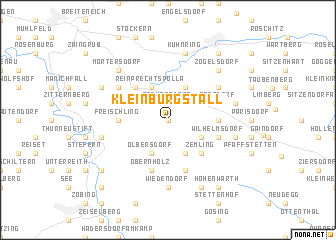 map of Kleinburgstall