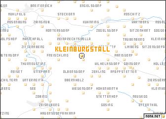 map of Kleinburgstall