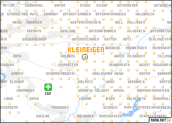 map of Klein Eigen