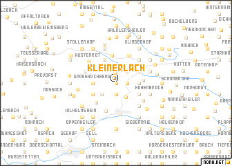map of Kleinerlach