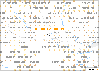 map of Kleinetzenberg