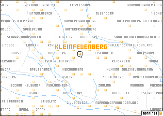 map of Kleinfedenberg