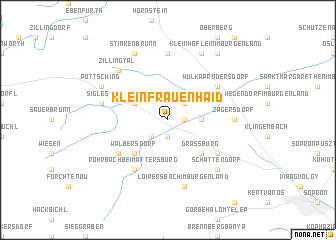 map of Kleinfrauenhaid