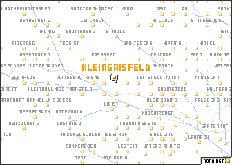 map of Kleingaisfeld