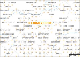 map of Kleingiersdorf