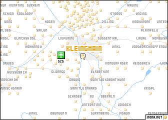 map of Kleingmain