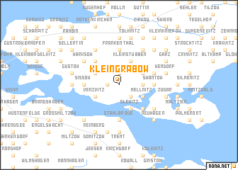 map of Klein Grabow