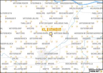 map of Kleinhain