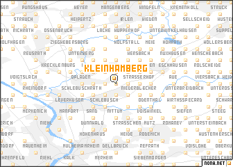 map of Kleinhamberg