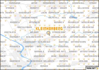 map of Kleinhamberg