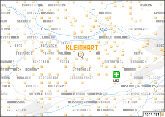 map of Kleinhart