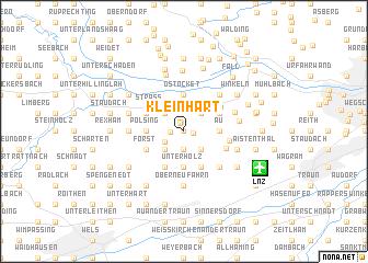 map of Kleinhart