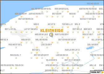 map of Kleinheide