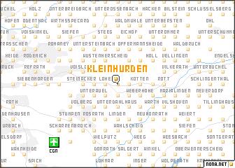map of Klein Hürden