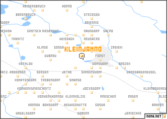 map of Klein Jamno