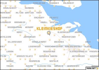map of Klein Kieshof