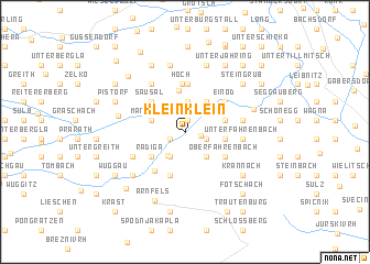 map of Kleinklein