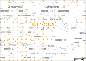 map of Kleinkögeln