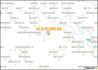 map of Kleinkorgau