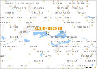 map of Kleinkoschen
