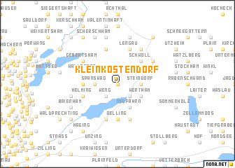 map of Kleinköstendorf