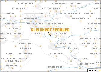 map of Klein-Krotzenburg