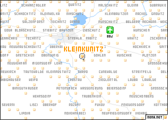 map of Klein Kunitz