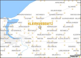 map of Klein Kussewitz