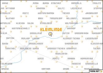 map of Klein Linde
