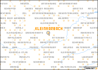map of Kleinmarbach