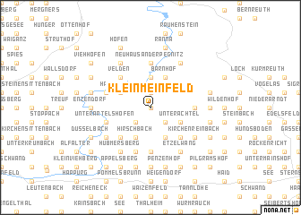 map of Kleinmeinfeld