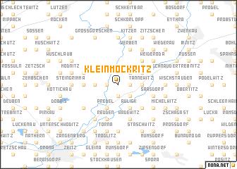 map of Kleinmockritz