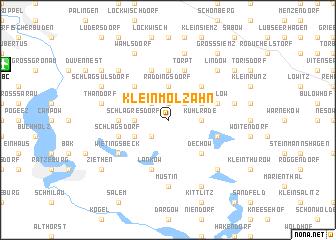 map of Klein Molzahn