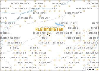 map of Kleinmünster